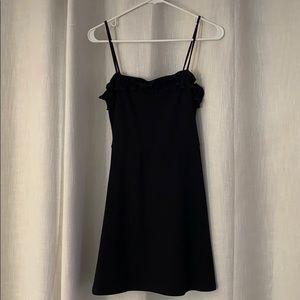 The Reformation black dress